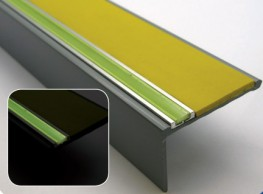 The AHP profile is designed to be used in most commercial and domestic applcations, the rear of the profile tapers to 3mm offering greater installation opportunities.