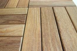 Cumaru Decking Tiles image