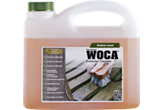 WOCA Exterior Cleaner - for the cleaning of wood deckings, deck tiles and cladding. The product removes green growth and dirt. The cleaner does not impact on the vegetation....
