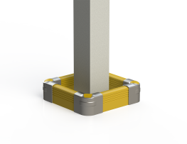 Crash Barrier - Low Level Wall & Column Protection - McCue International