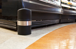 Keep units looking new by protecting them from bumps and scrapes - It is inevitable that in high traffic areas knocks and scuffs will occur with the hustle and bustle of shoppers and staff. Slimline Guard is an inconspicuous solution to protecting units to kee...