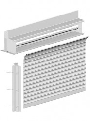 Integr8SR - Rolling / Coiling Shutters image
