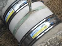 Large diameter standard Couplings by Flexseal Couplings