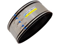 The unique Flexseal Magnum Couplings is 370mm wide - the widest flexible coupling currently available in the marketplace.The greater width enables greater tolerance when cutting the pipe ends, and considerably more freedom of movement during any ground settl...