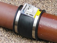 Flexseal Drain Couplings are used to connect, repair and maintain drainage systems and other small diameter non-pressure pipelines.Available to suit any pipe material up to 275mm outside diameter, Drain Couplings are designed for use in drainage systems wher...