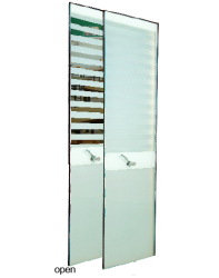 Specifically designed to offer a streamline appearance to any door requiring a full length panel and with all of the benefits expected of a Vistamatic®, the Max-XL™ dispenses with the need to install two individual panels vertically into a door blank.