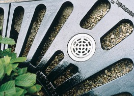 The YARE tree grille is a premium round ductile iron tree surround.