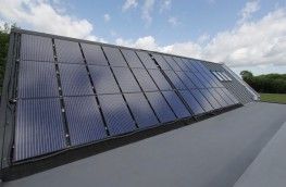 Generating both heat and electricity, Solar Angel produces over four times the useable energy of standard Photovoltaics (PV) and has been designed to be light weight and easy to install.