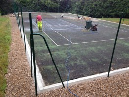 Many leisure centres, schools and clubs in the UK choose to have porous macadam surfacing installed for sports facilities such as tennis courts, basketball surfaces and multi use games areas. We can offer a number of specialist macadam services for these facil...