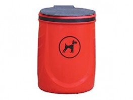 Rover UV Stabilised Polyethylene Dog Waste Bin image