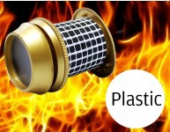 Plastic Secure to view Fire Resistant Viewers - UAP TradeLocks