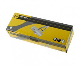 Specifications: - Power Size 3 - CE marked - suitable for use on fire doors - Declaration of Performance available at www.yalelock.com/dop - EN1154:1996 + A1:2002 - Standard Security - 2 Year Guarantee.Features: - Overhead door closer with adjustable closing & latching speeds - Fixed power size 3 - Size 3: Maximum door weight 60kg, maximum door width 950mm - Can be installed with standard or hold open arm and PA bracket (supplied) for push or pull side installation - Non-handed: suitable for left and right hand opening doors - Fitting template supplied for ease of installation.Finish: Silver