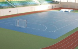 Herculan SR Indoor sports surfaces are eco-friendly, seamless and cushioned multi functional floors with point elastic properties. Suitable for all indoor sports including athletics with spiked shoes.
