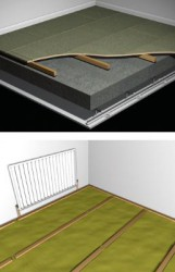 Acoustic Floor Bearer for Soundproofing Concrete Floors image