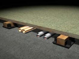 Acoustic Levelling System for Uneven Concrete Floors image