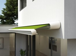 Experience, knowledge of design and technology as well as beauty and functionality also unite in the markilux MX-1 compact - the MX-1's little sister. The cassette awning, with a construction depth of 40 cm, is smaller than the markilux MX-1, but just as impre...