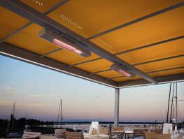 markilux markant - free-standing awning frame system, sun, rain and