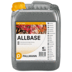 1-component, roller-applied, alcohol-based primer suitable for use with all wood floor lacquers. Pallmann Allbase provides a barrier on wood containing oils, resins and pigments and in the renovation of oiled or waxed flooring and exotic timbers. The use of al...