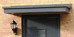 The Stormking GRP entrance door canopies can totally transform the front elevation of a building. For both new build and refurbishment projects, Stormking entrance door canopies allows architectural self-expression.