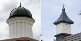 The Stormking GRP roof tower dovecote can enhance the appearance of any building offering the builder virtually maintenance free product, with a traditional aesthetic look. The Stormking GRP roof tower dovecote is moulded with a reproduction lead roof and deco...