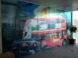 Digitally Printed Window Film image