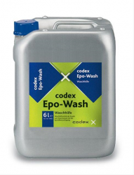 To improve the cleaning results of wash-water when washing off freshly applied epoxy resin grout. Suitable for large and small format tiles with glazed, unglazed and textured surfaces. Resin streaks are reduced.