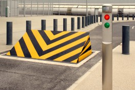 Crash Tested Shallow Depth Road Blocker - CSG 10506 image