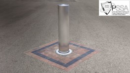 This automatic rising bollard passed the PAS 68:2010 vehicle impact test with the following result: