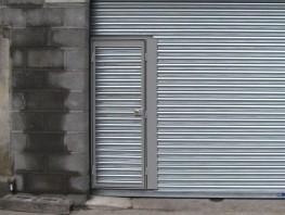 Roller Shutter Personnel Door By Hag The Door Specialists
