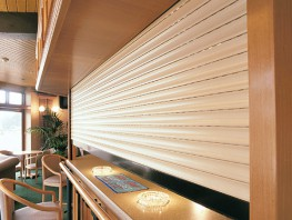 The Seceuro CD150 roller shutter is constructed from a 40mm double skinned foam filled aluminium lath providing insulation from noise and heat. ...