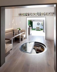 Not only does it look good, the White Spiral Cellar also provides the greatest capacity we offer with a diameter of 2.5 metres, suitable for a significant collection, with wide steps for an easy descent. Each of the bins is deep enough to accommodate a whole b...