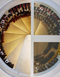 With a diameter of 2.3 metres the Original Spiral Cellar boasts more than enough space for a collection of copious amounts as each bin stores up to 24 Bordeaux or 17 Burgundy shaped bottles. Personalise your Original Spiral Cellar with a choice of impressive d...