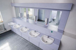 Ultimate vanity units form part of the Ultimate washroom partition system and are available to suit the Ultimate President, Ultimate Director and Executive washroom cubicles....