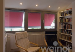 The weinor Aruba is the ideal shading solution for windows, loggias and glazed facades alike. It softens glaring light, keeps rooms from overheating and furniture from fading. As a dependable privacy screen, the Aruba keeps out prying eyes. With a round or squ...