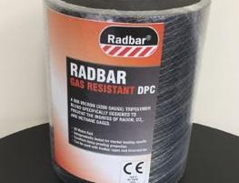 Radbar Gas Resistant DPC is an engineered tri-polymer that has been developed to give excellent mechanical properties while maintaining outstanding resistance to radon, carbon dioxide and methane gases as well as water vapour. The prominent embossing on the DPC creates superior mortar adhesion, making this product suitable for multi storey applications.