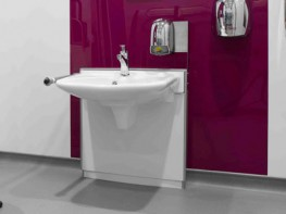 Height Adjustable Wash Hand Basins image