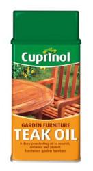 Cuprinol Garden Furniture Teak Oil image