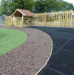 Safety Rubber Mat is an environmentally friendly, non-slip, impact absorbing safety and footway matting surface.