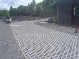 Manufactured from recycled plastics, TruckPave cellular paving is robust, durable and capable of withstanding all levels of traffic up to and including coaches, dustcarts and HGVs.TruckPave's cells can be filled with either grass seed/topsoil or gravel, ma...