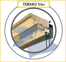 Centre-pivot roof windows (Pine and PVC) image
