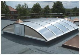Using Sola Polycarbonate we can create glazing features to enhance any architectural design.