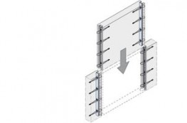 The HLB Loop Box is used to connect concrete elements with each other in an efficient and time saving way. In the corresponding precasting works, the boxes are built into two concrete components which need to be connected (for example walls). The concrete elem...