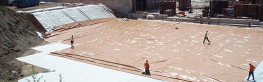 Monarflex Reflex Super radon barrier is a high performance, loose-laid membrane developed specifically for use in the foundations of new buildings on contaminated sites where landfill gases exist e.g. methane and CO2 (please contact Necoflex for specific appli...