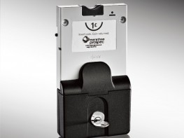Prospec Removable Cylinder Single Coin Collect Lock image