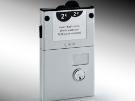 Prospec Removable Cylinder Dual Coin Collect Lock image