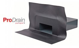 Rainwater outlets specifically designed for use in through wall applications or parapets....