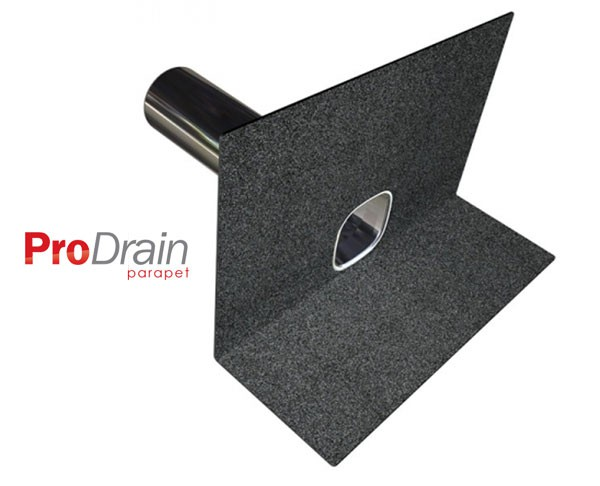Prodrain Parapet Rainwater Outlets By Roof Pro