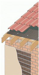 Flattened meshes have been pressure rolled which results in strands that are in the same plane as the sheet. Raised meshes have angled strands which are inclined from the plane of the sheet.Applications:- Security (roofs, masonry, stud walls and ceilings)....