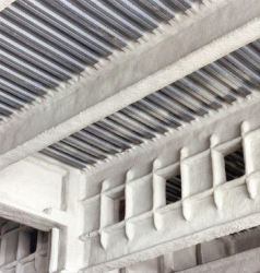CAFCO® 300 is a spray or trowel applied, single package factory controlled premix, based onVermiculite and gypsum, for internal use. It is a lightweight coating that provides very efficient fire resistance with minimal thickness to steel and concrete frames...