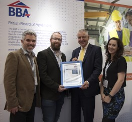 BBA Certificate Presentation at UK Construction Week 2018